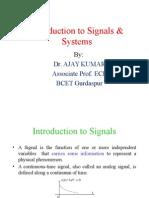 Signal & Systems _EDUSAT