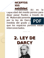 Ley de Darcy Modificada