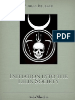 Lilin Society Initiation