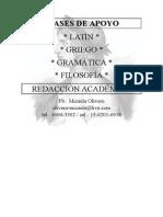 CLASES de APOYO, Lengua y Literatura
