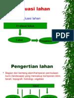 STELA Dasar Evaluasi Lahan FAO