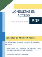 Consultas Access