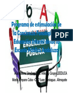 Auxi Sanchez Mariam Cobo- Estimulacion Conciencia Fonologica E InfantilRED