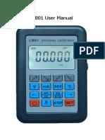 Lb01 English User Manual