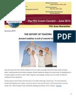 Final Newsletter of District 44 Area F63 Jun 15