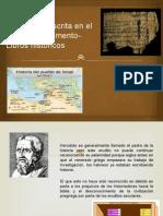 La historia  escrita en el Antiguo Testamento- Libros.pptx