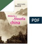 Historia de La Filosofía China. Confucianismo, Taoísmo, Budismo - Bauer, Wolfgang.pdf __ Copy