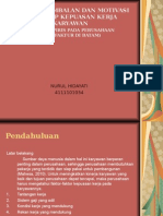 Powerpoint of proposal