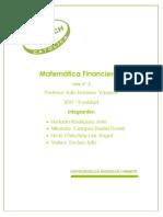 Matematica Financiera II - RSU I I Unidad
