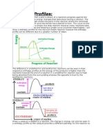 Enthalpy Profiles