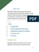 SPE. 2013. Openhole Caliper Logs. Httppetrowiki.orgopenhole_caliper_logs