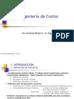 Apunte 1- Intro - Ingeniería de Costos-CWH
