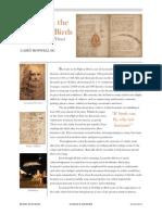 codex on the flight of birds by leonardo da vinchi report