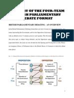 British Parliamentary Debate Format