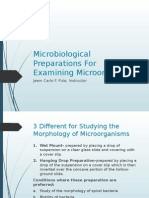 Microbiological Preparations For Examining Microorganisms MIDTERMS.pptx