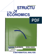 the Structure of Economics by Eugene Silberberg