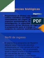 Ciencias biológicas