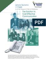 KX T7665 Brochure