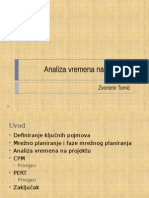 Analiza Vremena Na Projektu