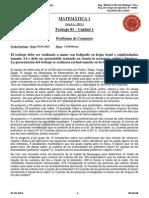 Matemática 1 Arquitectura 2015-1 I-A Presencial UJCM-TRABAJO 01-1-30042015