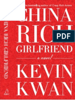 China Rich Girlfriend - Kevin Kwan (Extract)