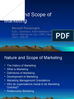 1natureandscopeofmarketing2011!12!120121075134 Phpapp01