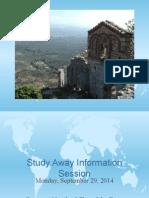 Study Away Presentation
