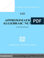 Approximation by Algebraic Numbers.pdf