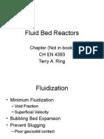 14 L1 Fluid Bed Reactors