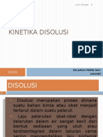 1. Kinetika Disolusi
