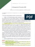 Previziuni in Managementul Pro