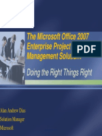 MS Office 2007 Enterprise Project