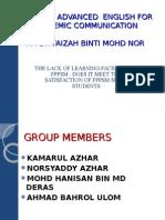 Uhb 2422 Advanced English for Acedemic Communication