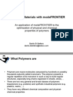 Designing Materials With ModeFRONTIER