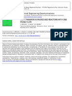 Fixed Bed Radial Heat Tranfer Specchia-Baldi ChemEngCommun_1980
