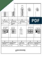 example of Schedule for Doors and Windows