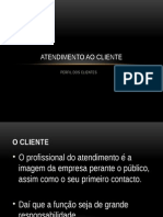 Perfil Do Cliente