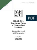 Chloride Metallurgy 2011