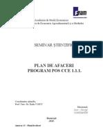 Seminar Stiintific Proiect