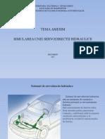Servodirectie hidraulica