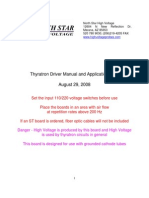 Thy r Drive Manual 082908