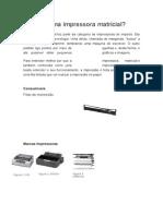 O Que é Uma Impressora Matricial