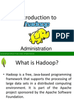 Introduction to Hadoop Administration - SpringPeople