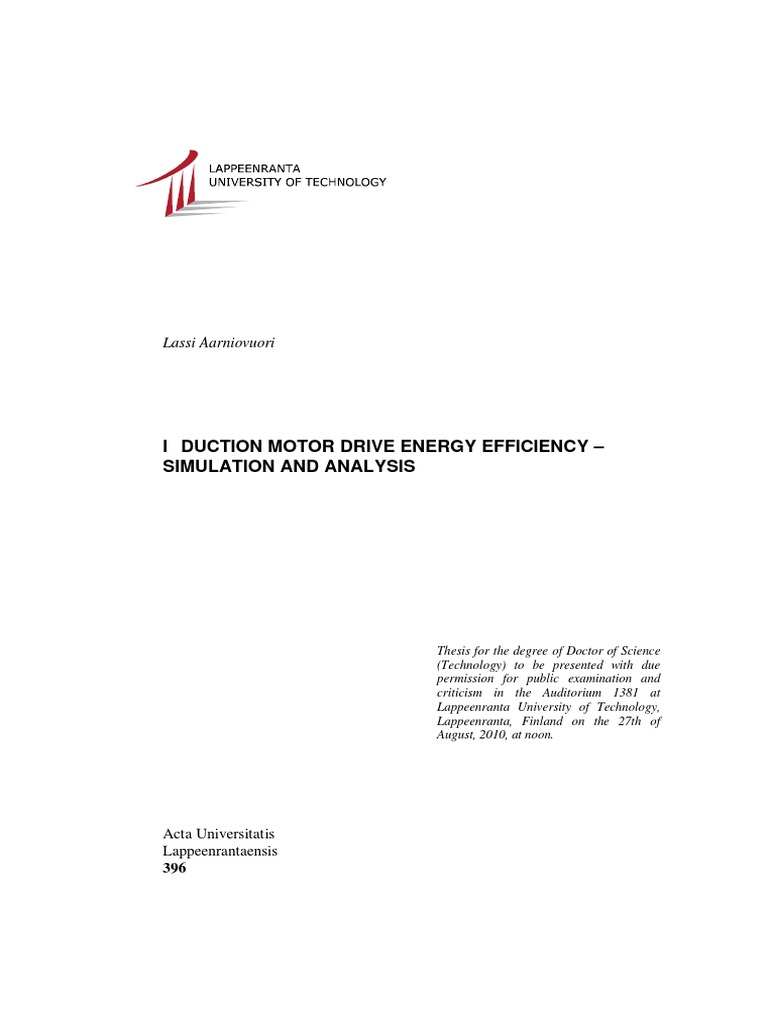 Dissertation electric