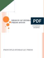 Design of Hydraulic Press 30ton