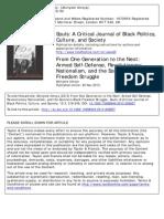 Akinyele Umoja - Armed Self-Defense, Revolutionary Nationalism, And the Southern Black Freedom Struggle