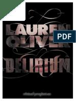 Lauren Oliver - Delirium