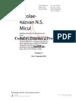 Codul de Practici Si Proceduri CertSIGN v1.7