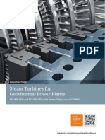 Steam Turbines for Geothermal Power Plants en(1)