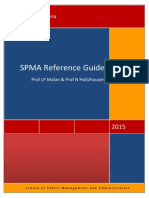 SPMA Referencing Booklet